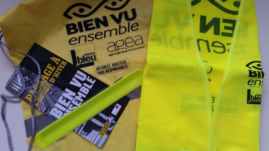 60 000 kits de visibilité seront distribués