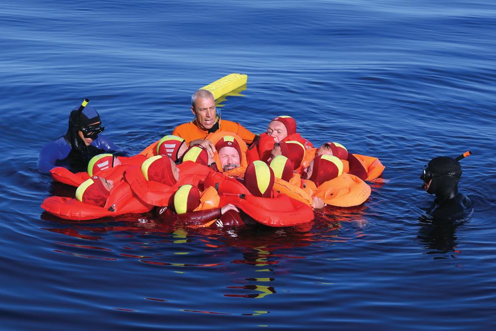 stage sauvetage en mer