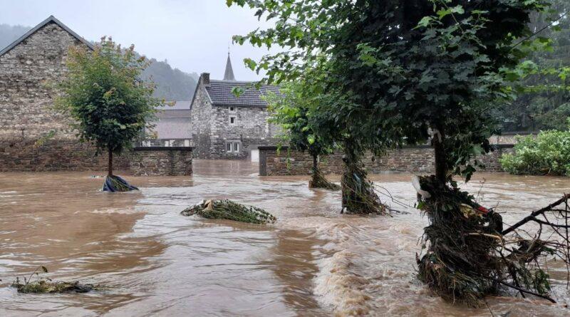 Inondation en Belgique : la protection civile française en renfort