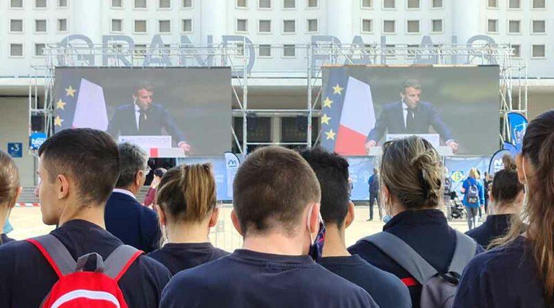 Congrès des Pompiers 2021 : le discours du président Macron