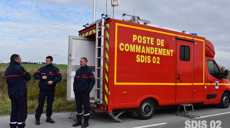Les sapeurs-pompiers mobilisés pour l'évacuation d'obus